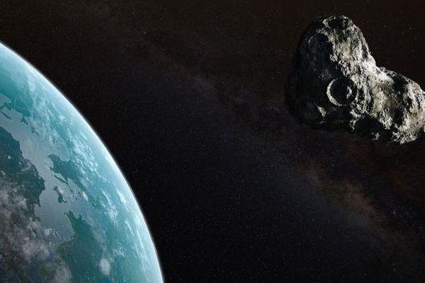 Thiên thạch to như tòa nhà 100 tầng đang hướng đến Trái Đất