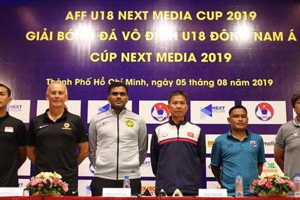 Các HLV nói gì về bảng 'tử thần' U18 Đông Nam Á trước khai mạc?