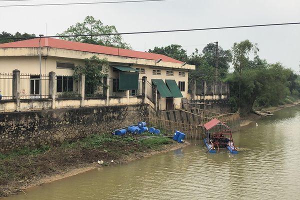 Nghệ An: Tạm dừng lấy nước sông Đào sản xuất nước sạch