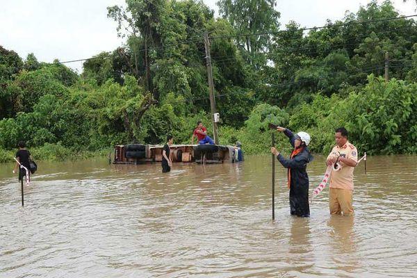 Ngập lớn nhiều nơi ở Đắk Lắk