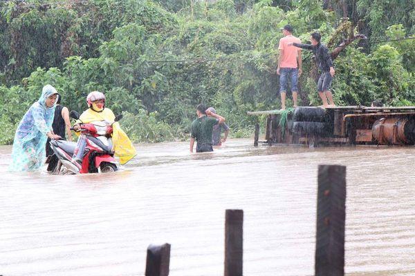 Mưa lớn ở Đắk Lắk, một người bị nước cuốn thiệt mạng