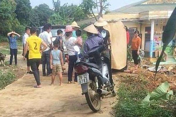 Nam công nhân bị điện giật tử vong khi xây trường mầm non