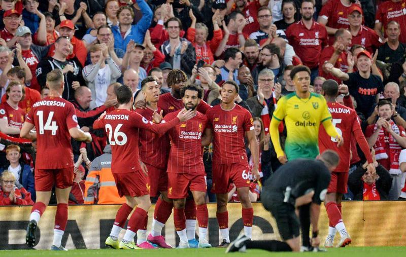 Liverpool thắng to trận mở màn Ngoại hạng Anh 2019/20