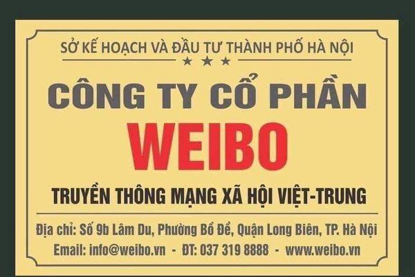 Mạng xã hội Việt - Trung Weibo có phải mạng Weibo của Trung Quốc?
