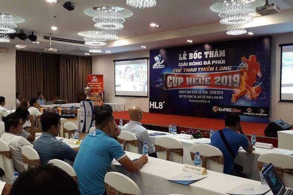 Khởi động giải bóng đá phủi Thiên Long mùa bóng 2019