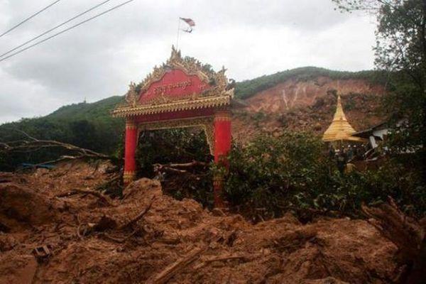 33 người thiệt mạng trong vụ lở đất tại Myanmar
