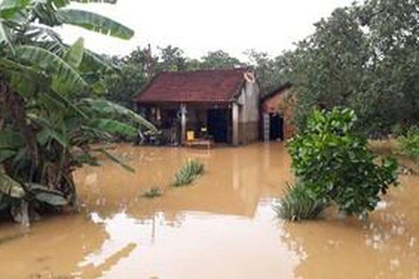 Giải cứu 6 người mắc kẹt trên cù lao Ba Lềnh - Đồng Nai do mưa lũ làm đứt cầu treo