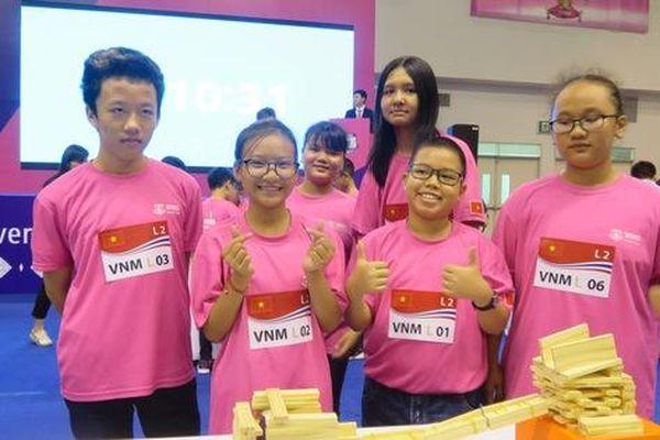 Học sinh Trường THPT chuyên Trần Đại Nghĩa dành 2 HCB cuộc thi toán thế giới