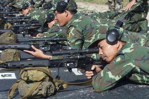Đội bắn tỉa Việt Nam dừng chân ở bán kết cuộc thi tại Belarus