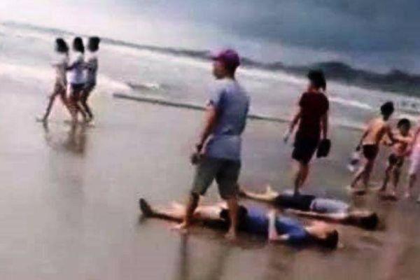 Tìm thấy 2 nạn nhân mất tích khi tắm biển ở Bình Thuận