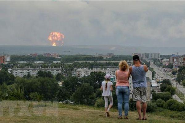 Tổng thống Mỹ bình luận về vụ nổ động cơ tên lửa tại Nga