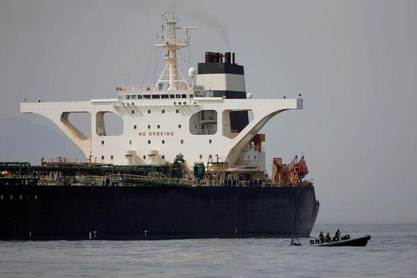 Mỹ can thiệp vụ bắt giữ tàu Iran của Anh vào phút chót