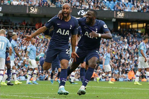Tottenham kiên cường thủ hòa Man City 2-2