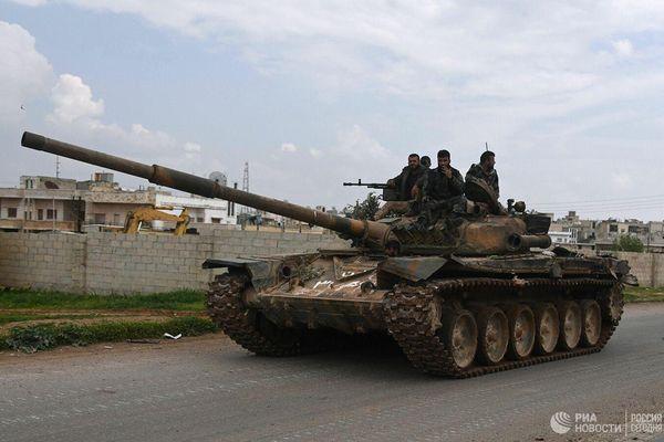 Quân đội Syria giành lại trạm kiểm soát Faqir, đang bao vây thành phố Khan Sheikhoun