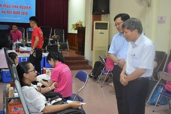 Sở Y tế Hà Nội vận động hiến máu tình nguyện trong toàn ngành