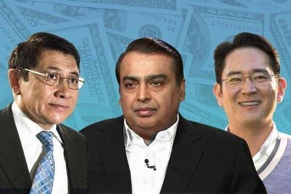 Các gia tộc giàu nhất châu Á nhiều tiền đến mức nào