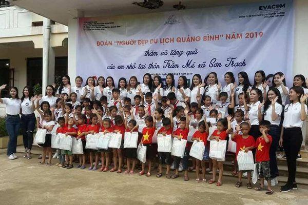 27 'Người đẹp Du lịch Quảng Bình' tham gia các hoạt động xã hội