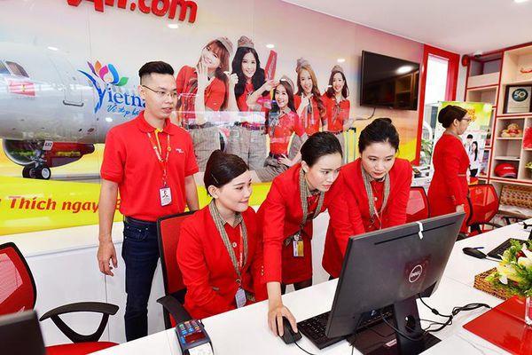 VietJet khai trương phòng vé mới cùng tổ hợp dịch vụ toàn diện