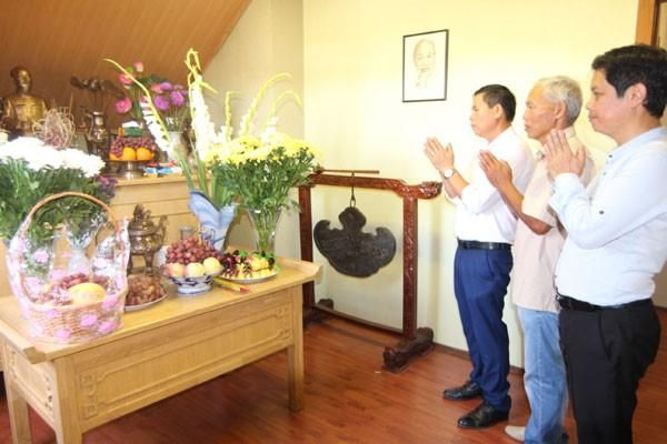 Cộng đồng người Việt tại Ukraine tổ chức kỷ niệm 74 năm ngày Quốc khánh