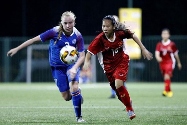 U15 nữ Việt Nam giành vị trí thứ 4 tại giải bóng đá nữ U15 Quốc tế 2019