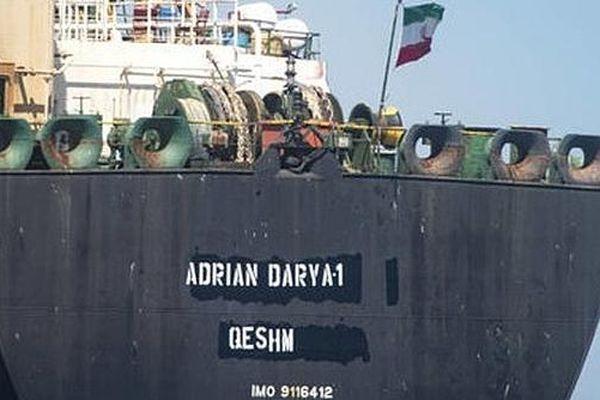Tàu chở dầu Adrian Darya 1 xuất hiện bên ngoài cảng Tartus của Syria