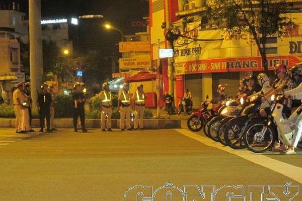 TP.HCM: Tiếp tục đảm bảo trật tự an toàn giao thông