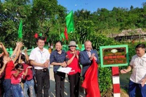 'Cầu nối yêu thương' số 21 tại Hà Giang đã được khánh thành