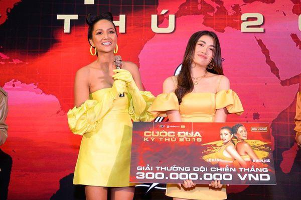 Hoa hậu H'Hen Niê và Lệ Hằng xuất sắc giành ngôi quán quân 'Cuộc đua kỳ thú'