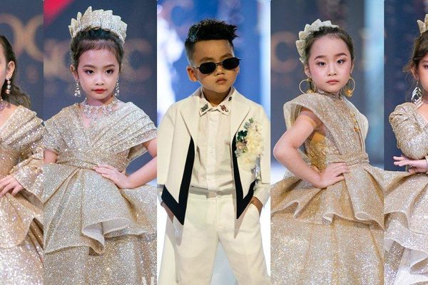20 mẫu nhí Việt trình diễn đỉnh cao tại Bangkok Kids International Fashion Show 2019