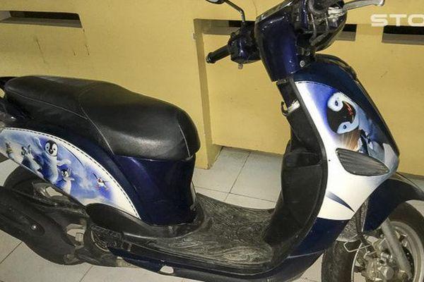 Bị phạt 750.000 đồng vì hoang báo bị cướp xe máy