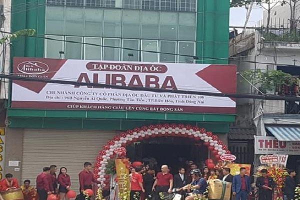 Xử lý biển hiệu 'Tập đoàn Địa ốc Alibaba' ở TP Biên Hòa