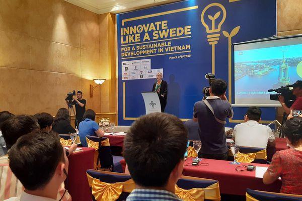 Phát động cuộc thi 'Sáng tạo như người Thụy Điển 2019'