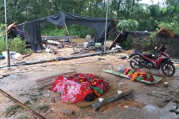 Thái Nguyên: Đổ tường nhà máy, 3 người bị đè chết
