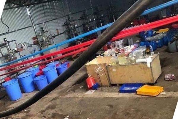 Hiện trường 'nhà máy sản xuất ma túy' quy mô lớn ở Kon Tum
