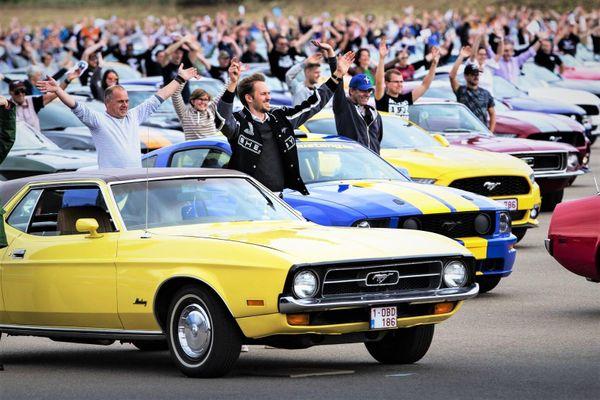 Ngày hội Ford Mustang quy tụ hơn 1.300 xe cơ bắp, lập kỷ lục thế giới