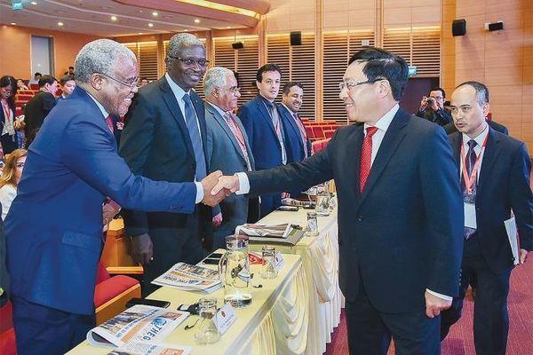 Tạo 'chất' mới cho hợp tác Việt Nam - Trung Đông - châu Phi