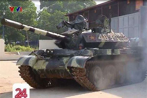 Tường tận hệ thống giáp trụ mới trên xe tăng T-54M Việt Nam