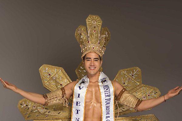 Ăn chay trường, Lâm Quách vẫn đạt Á vương Mister Tourism & Culture Universe 2019