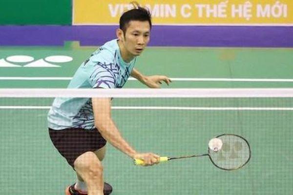 Nguyễn Tiến Minh giành chiến thắng thuyết phục tại Giải Cầu lông quốc tế Yonex - Sunrise Vietnam Open