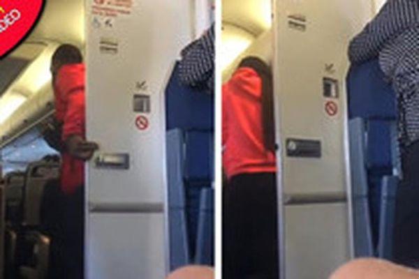 Hành khách làm 'chuyện ấy' trong nhà vệ sinh máy bay United Airlines