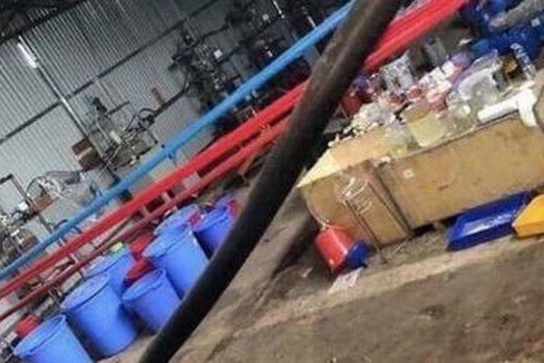 Triệt phá xưởng sản xuất ma túy do người Trung Quốc điều hành