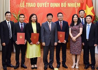 Bộ Ngoại giao bổ nhiệm nhân sự