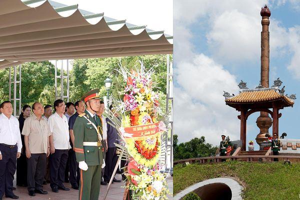 Thủ tướng dâng hương tại Thành cổ Quảng Trị