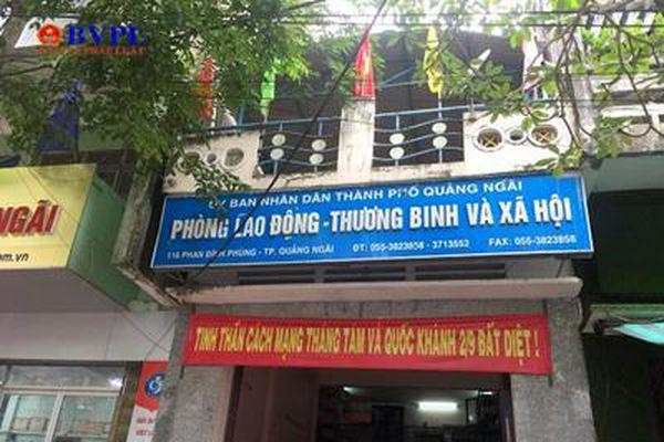 'Ăn chặn' tiền chính sách, cán bộ Cơ quan Tổ chức-Nội vụ TP Quảng Ngãi bị bắt tạm giam
