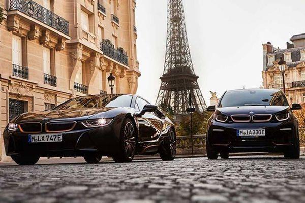 Cận cảnh bộ đôi BMW i8 và i3s vừa ra mắt
