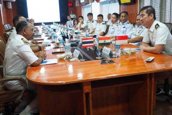 Singapore, Ấn Độ, Thái Lan lần đầu khởi động diễn tập hàng hải ở Ấn Độ