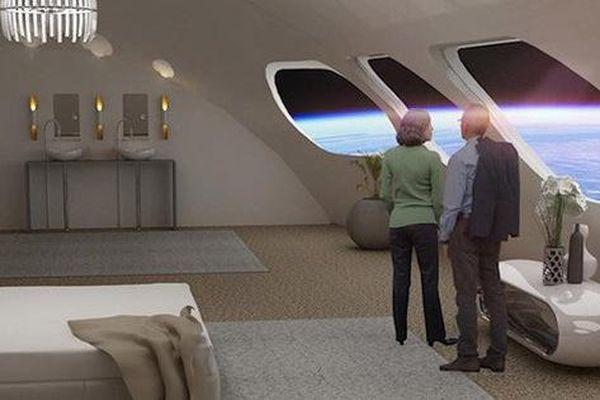 'Khách sạn trong không gian' sẽ đón khách vào năm 2025