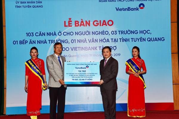 Thực hiện Di chúc của Chủ tịch Hồ Chí Minh: Ngân hàng TMCP Công thương Việt Nam thực hiện tốt công tác an sinh xã hội, chăm lo đời sống người lao động