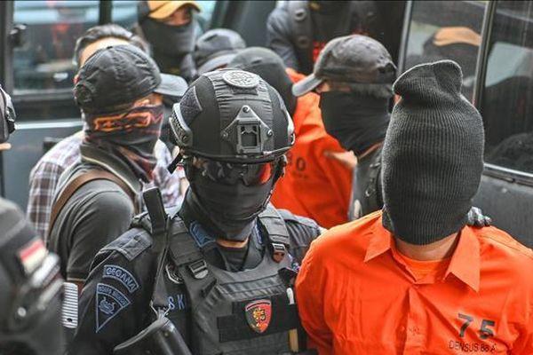 Indonesia bắt 8 nghi can có liên hệ với IS