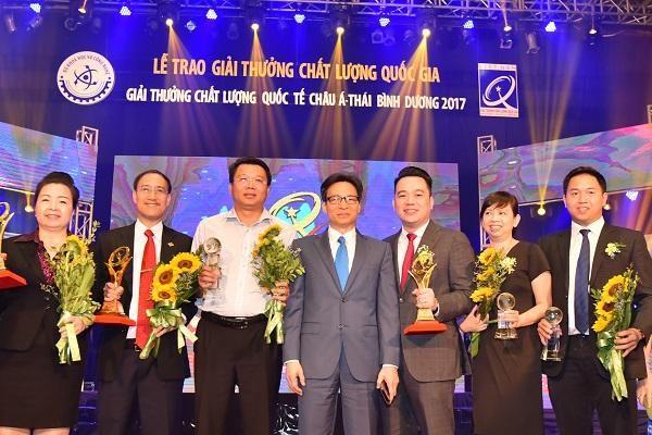 Tập đoàn Tân Á Đại Thành nhận giải thưởng Chất lượng Quốc tế Châu Á – Thái Bình Dương 2019